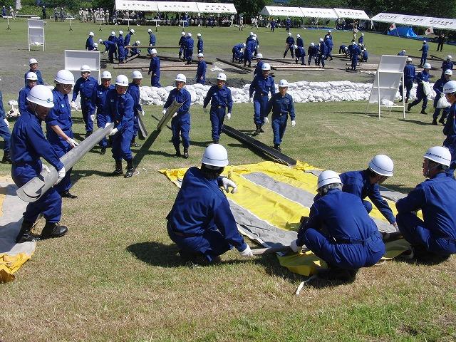 水防訓練と津波対策は別物_f0141310_5484386.jpg