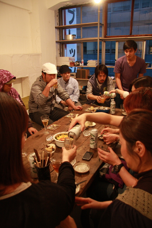 WS After Party '(満)芸術栄養学 'debut! #1_a0184716_165186.jpg