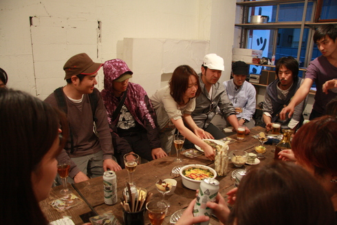 WS After Party '(満)芸術栄養学 'debut! #1_a0184716_1662839.jpg