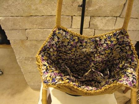 カシェリエのマクラメ編みバックです。_c0227633_21503724.jpg