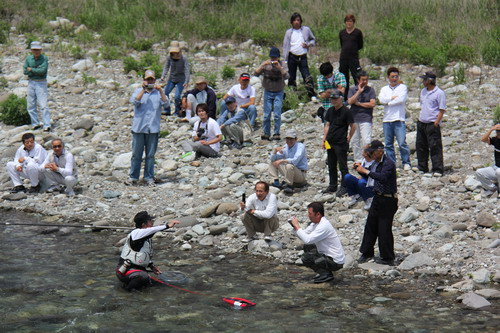興津川、鮎試し釣り。_f0175450_14332871.jpg