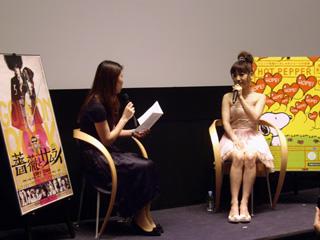『薔薇とサムライ』神田沙也加さんトークショーレポート_f0162980_23555826.jpg