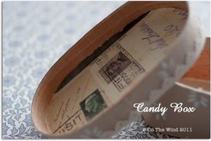 キャンディーボックスをカルトンペルフォレで変身♪_d0154507_1352412.jpg
