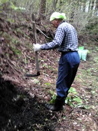 父、農作業をする。_c0195909_12115434.jpg