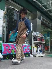本日東急ハンズ渋谷正面入り口デモンストレーション_d0148223_1395490.jpg