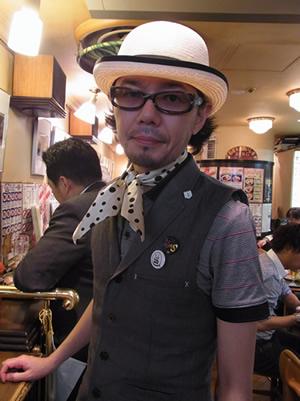 ベルク缶バッジコーディネート♪〜男性編_c0069047_2524656.jpg