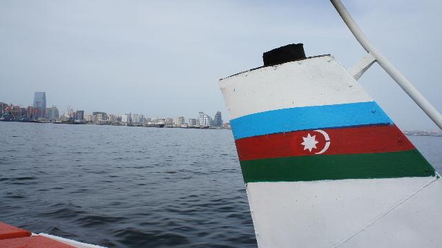 アゼルバイジャン(9) カスピ海...