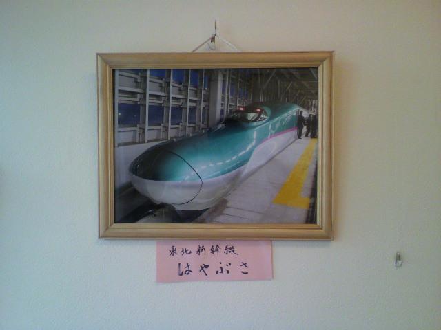東北新幹線はやぶさの写真_b0106766_14141821.jpg