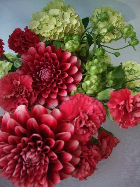 オークリーフ(母の日の花束コレクション)_f0049672_17573270.jpg