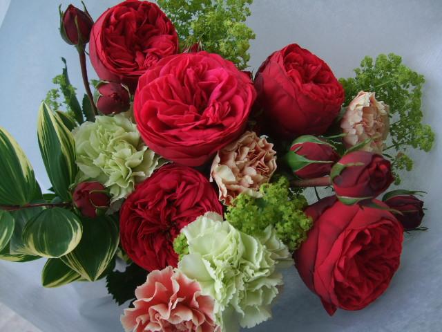 オークリーフ(母の日の花束コレクション)_f0049672_17595475.jpg