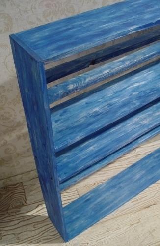 青いペンキの棚・完成!!_a0096367_21511145.jpg