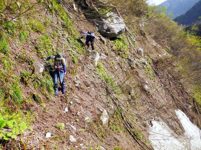 飯豊連峰 門内沢 ~ 2011年5月15日_f0170180_2255734.jpg