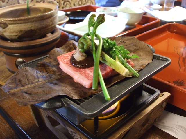 岐阜の旅 その5 下呂温泉「志むら」のお料理_f0019498_20304912.jpg