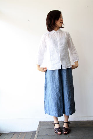 夏の丸衿シャツ_f0215708_16501443.jpg