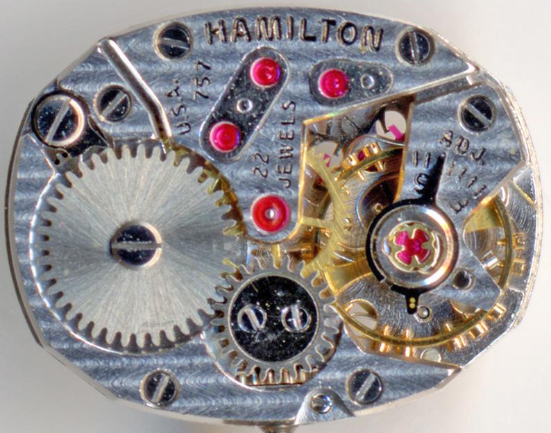 ハミルトン(HAMILTON) 婦人用 22石 5型 腕時計_c0083109_17511115.jpg