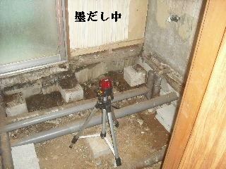 震災被害による床工事_f0031037_2033010.jpg