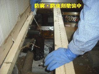 震災被害による床工事_f0031037_2041637.jpg