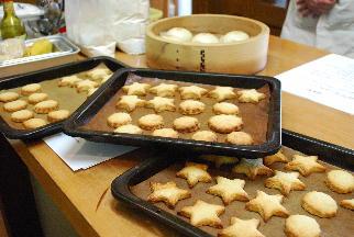 豆腐豆饅頭、レモンクッキー、蓮の葉のちまき_a0175348_22324877.jpg