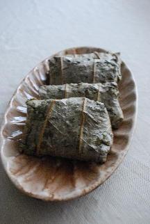 豆腐豆饅頭、レモンクッキー、蓮の葉のちまき_a0175348_2233443.jpg