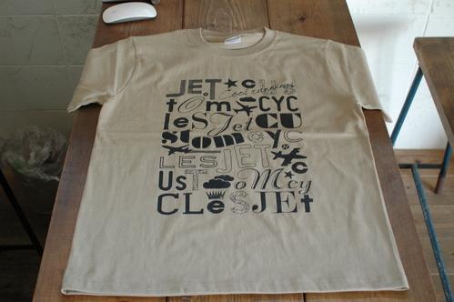 JETオリジナルTシャツ完成!_a0164918_1484359.jpg