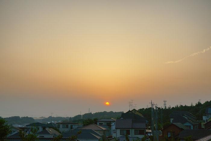 真夏日近く 夕_e0077521_22362019.jpg