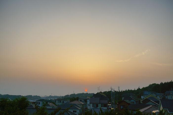 真夏日近く 夕_e0077521_22371989.jpg
