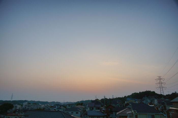 真夏日近く 夕_e0077521_22401173.jpg