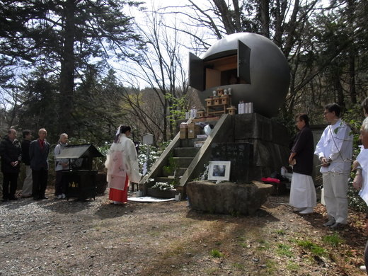 飛騨高山 位山での巫女舞ご奉納_a0088827_16385379.jpg