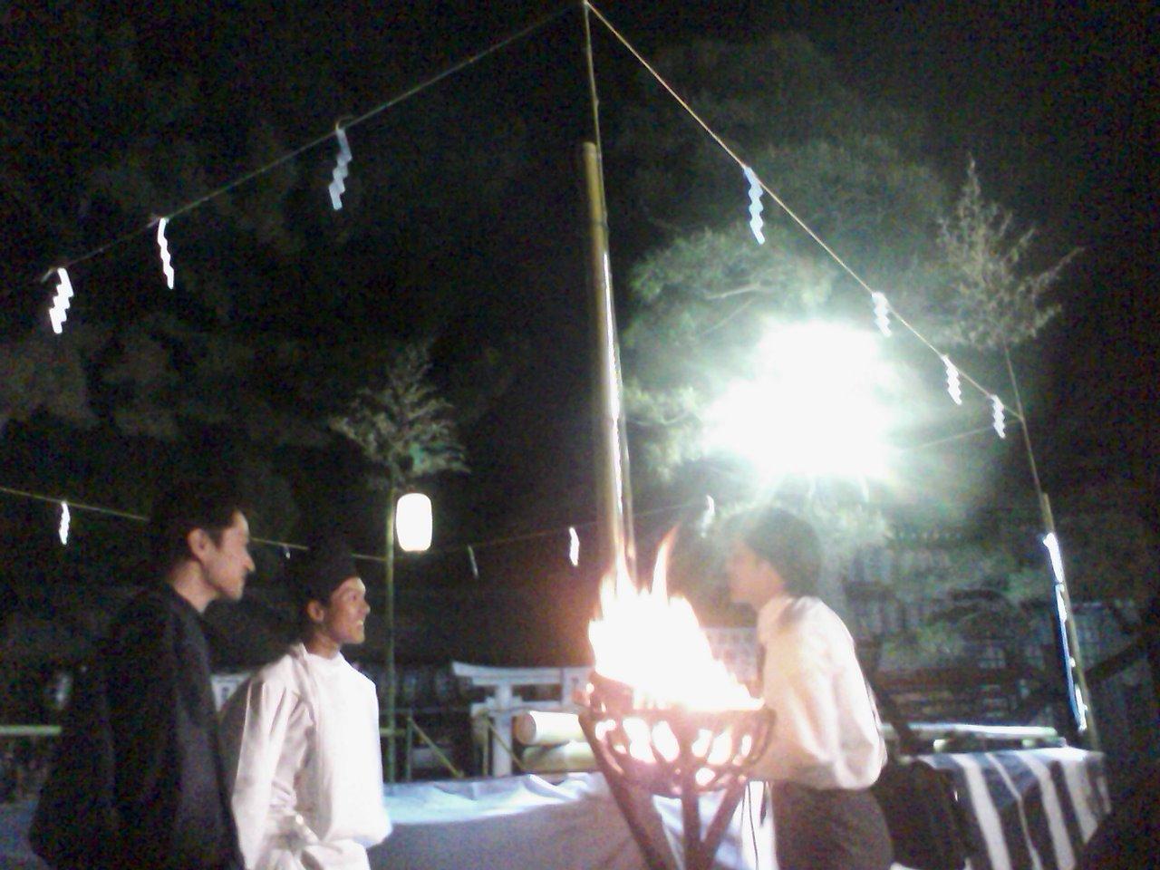 住吉さん舞楽、阿部野神社薪能_a0088827_2054757.jpg