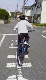 初心者自転車教室開催!生徒は美女と中学生_c0214359_231314.jpg