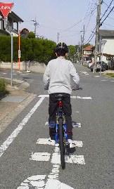 初心者自転車教室開催!生徒は美女と中学生_c0214359_231910.jpg