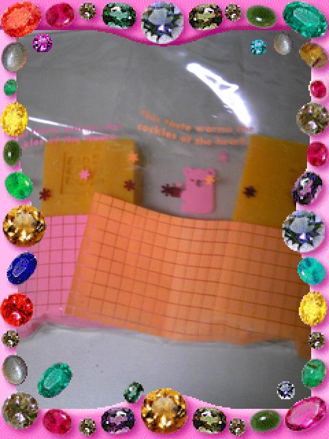 オレンジ石鹸とジャーミーロール④_b0203925_13391083.jpg