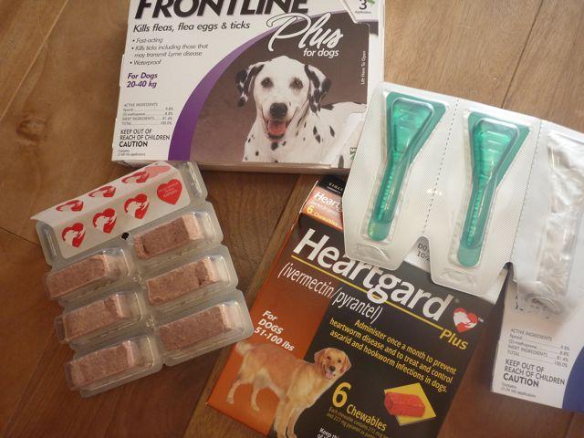 犬用薬品 フロントラインとハートガードプラス(カルドメック)_b0054727_22571673.jpg