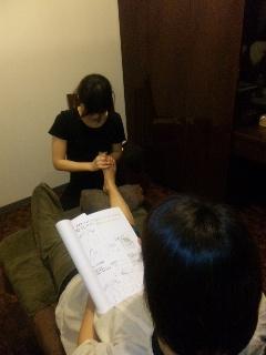 台湾式リフレクソロジースクール _f0140145_1548940.jpg