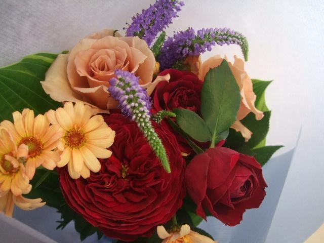 オークリーフ花の教室(中山さんと島崎さんの作品)_f0049672_143792.jpg