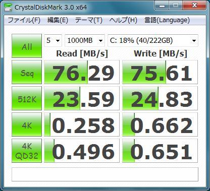 [ ThinkPad X201 Tablet ] に Intel の SSD 510 を購入_b0003577_13501010.jpg