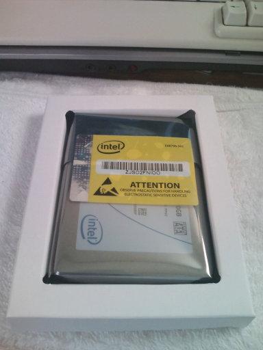 [ ThinkPad X201 Tablet ] に Intel の SSD 510 を購入_b0003577_15191842.jpg