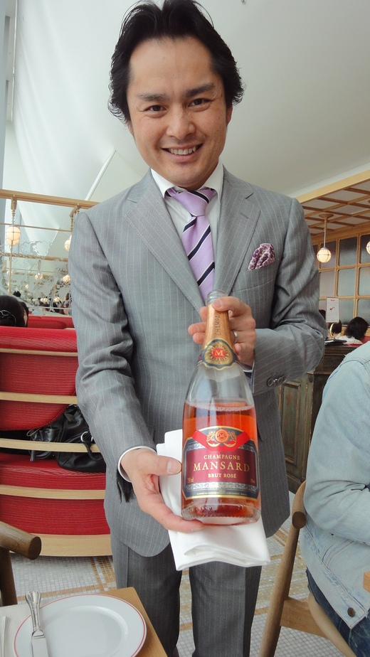 シャンパンビジネスランチ@ブノワ大阪_f0215324_172368.jpg