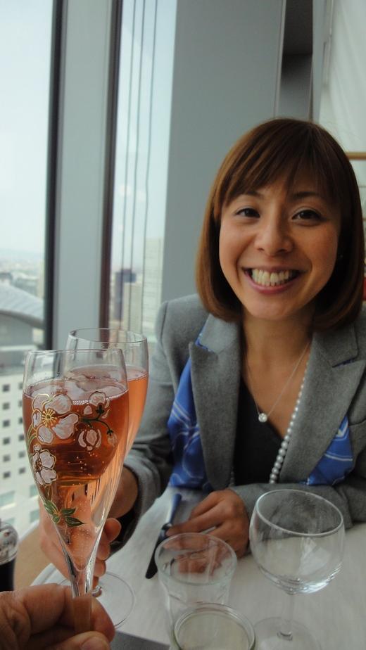 シャンパンビジネスランチ@ブノワ大阪_f0215324_175380.jpg