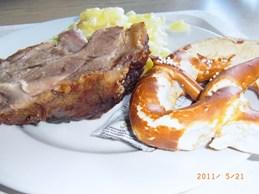 Kloster Andechs アンデックスでドイツ料理_e0195766_7385145.jpg