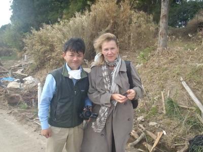 ドイツ緑の党 ジルビア連邦議員と福島県 南相馬 飯館村を視察_a0036384_5253744.jpg