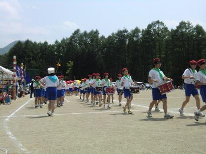舘岩小学校の運動会_f0227395_17312560.jpg
