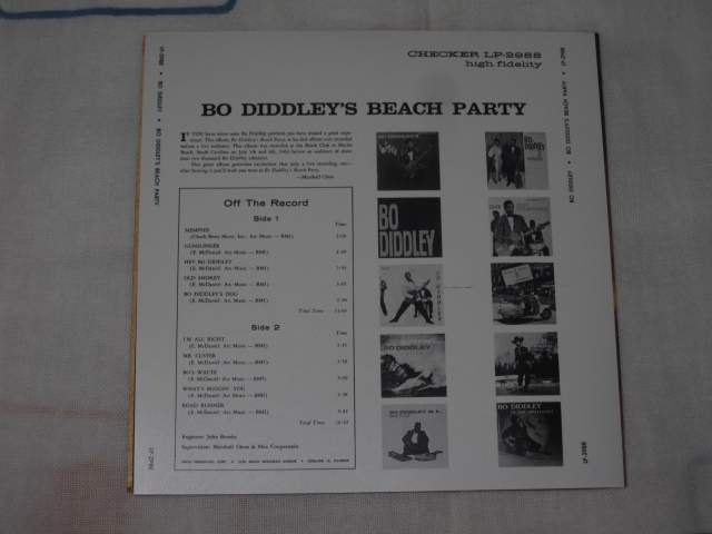 Bo Diddley / Bo Diddley\'s Beach Party_b0042308_09184.jpg