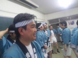 青海神社御神輿担ぎの戦士達どやっ! ①_b0130512_1857125.jpg