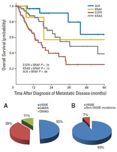 肺腺癌においてBRAF変異は3%、喫煙例に多く、G469A、D594Gは比較的特異性が高い_e0156318_18233949.jpg