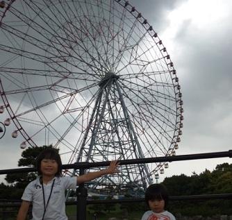 娘の子供たちと葛西臨海公園に出かけた_d0148223_1122868.jpg