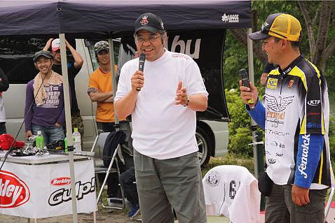 第1回スポーツ報知『掛布CUP』in津風呂湖_a0097491_21295231.jpg