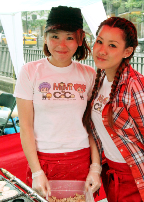 ニューヨークのストリートフードに日本スタイルのテリヤキ・ボール登場!!! Teriyaki Balls MiMi & CoCo_b0007805_2183064.jpg