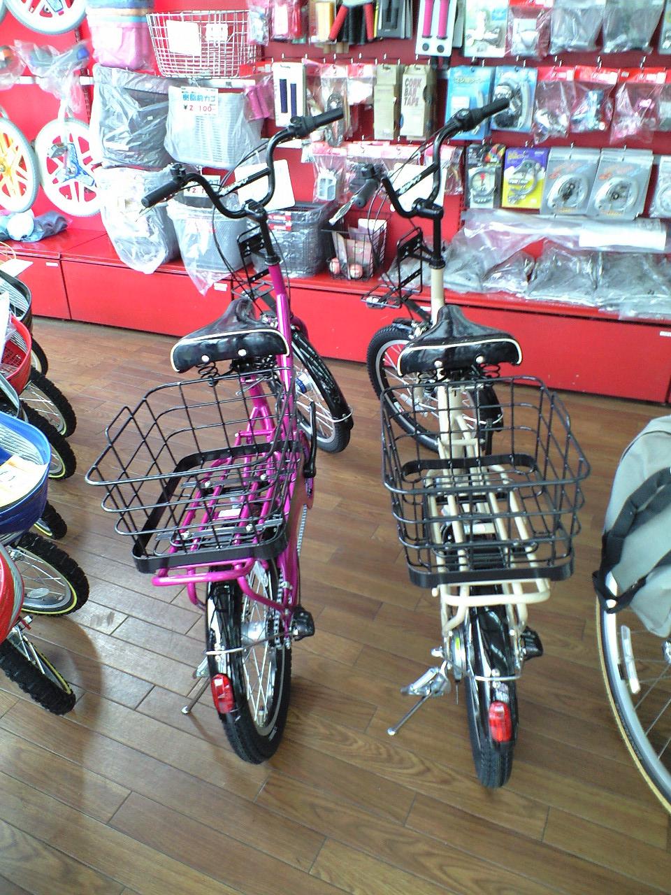 自転車の 自転車 カゴ 折りたたみ 後ろ : ... 自転車とほとんどかわりません
