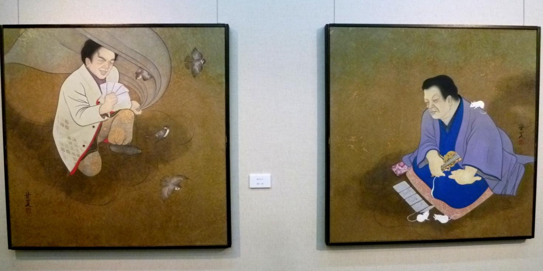 1565)②「北の日本画展 第26回」 時計台 終了5月16日(月)~5月21日(土) _f0126829_18575710.jpg